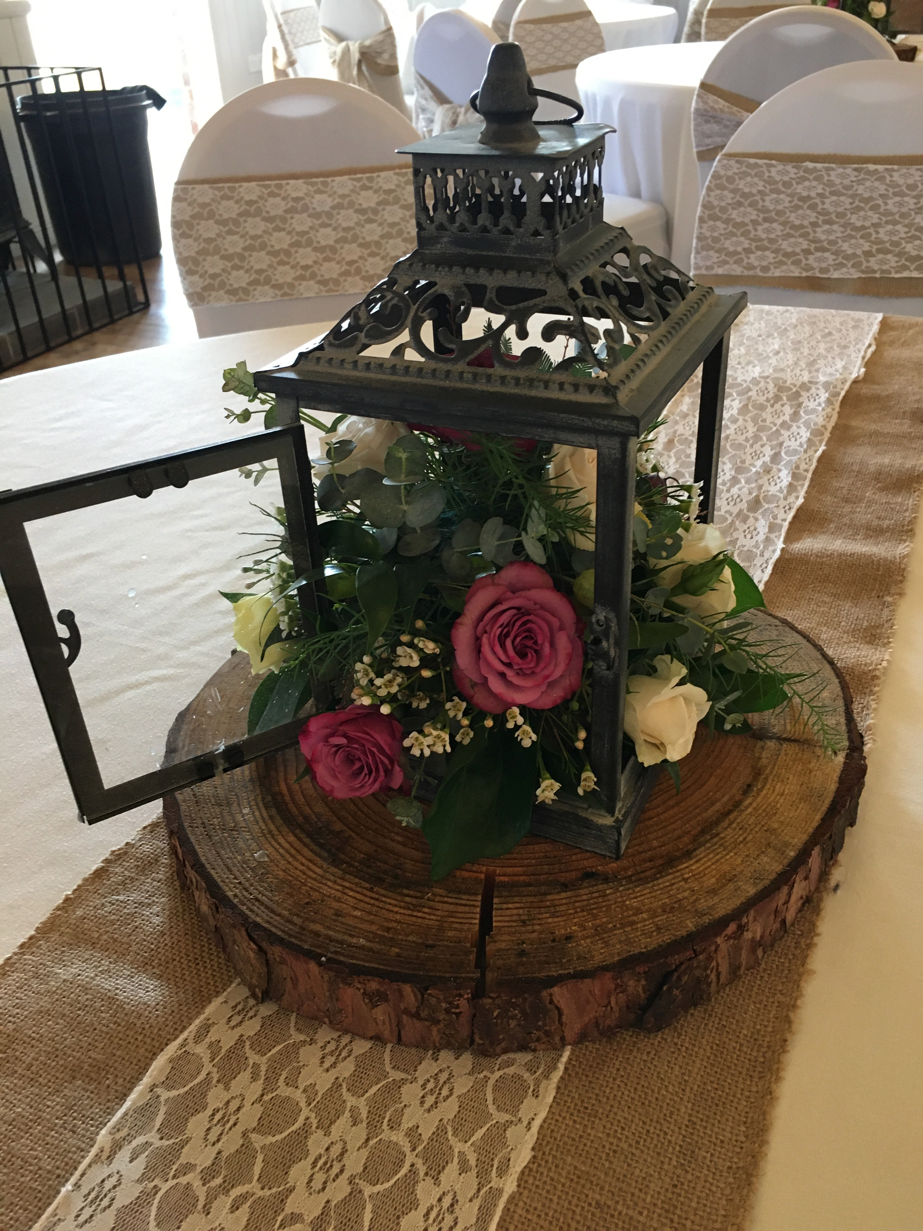 Table Decoration at Springfield Events Hall